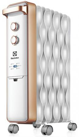 Масляный радиатор Electrolux Wave EOH/M-9209 2000 Вт серебристый масляный радиатор electrolux eoh m 3105 1000 вт белый серый