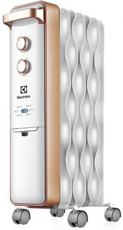 Масляный радиатор Electrolux Wave EOH/M-9157 1500 Вт серебристый масляный радиатор eoh m 3157 7 секций 1500 вт electrolux