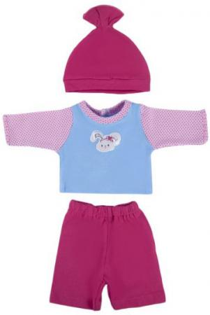Одежда для кукол Mary Poppins Зайка- кофточка, брючки и шапочка 203 mary poppins одежда для кукол боди зайка