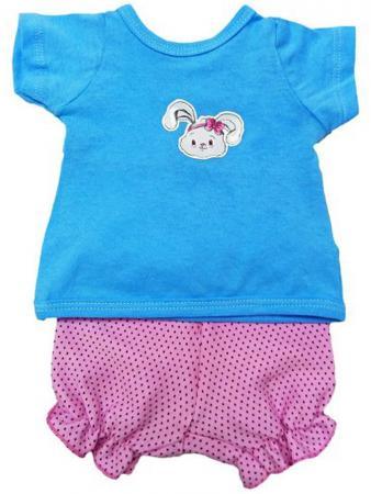 Одежда для кукол Mary Poppins Футболка и шорты - Зайка 38-43см mary poppins одежда для куклы mary poppins зайка костюм с жилеткой 38 45 см
