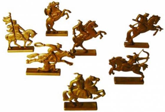 Фигурка Игрушкин Золотая орда магнит angelucky умный совёнок пластик авторская работа 5 х 7 5 см