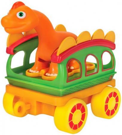 Игровой набор Tomy Поезд динозавров 8 см Т59399 игровые наборы tomy набор поезд динозавров тайни с вагончиком