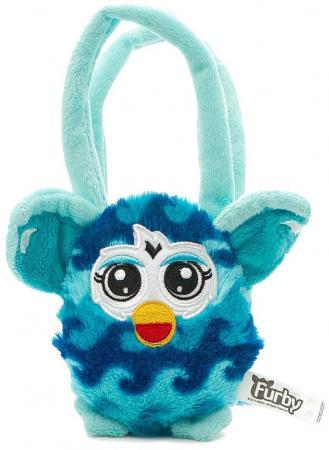 Плюшевая игрушка Furby сумочка волна 12 см, хенгтег Т57556 интерактивная игрушка furby boom теплая волна в ассортименте