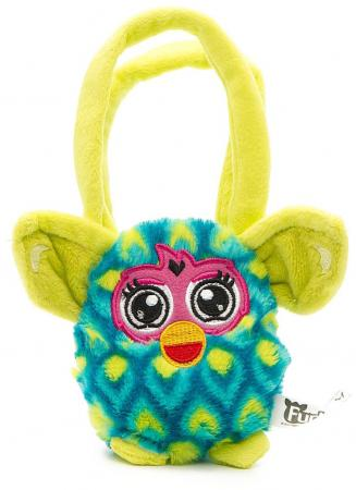 Плюшевая игрушка Furby сумочка павлин 12 см, хенгтег furby сумочка 12 см павлин 1toy