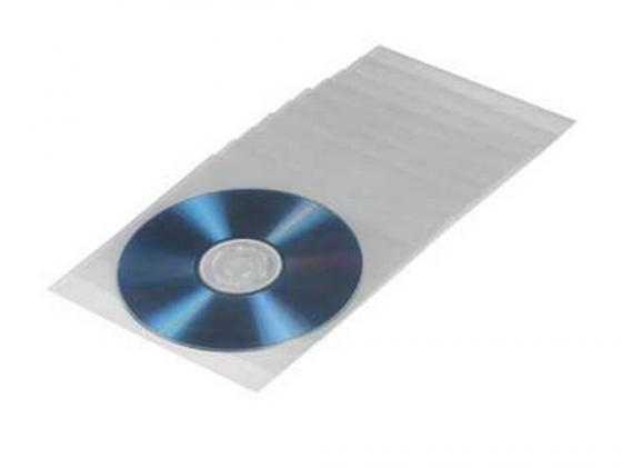 Конверты Hama для CD/DVD пластиковые 50шт H-33809 конверты hama для cd dvd бумажные с прозрачным окошком белый 25шт h 51060