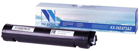 Картридж NV-Print KX-FAT472A7 для Panasonic KX-MB2110RU/2117RU/2130RU/2137RU/2170RU/2177RU черный 2000стр flower candles print waterproof shower curtain