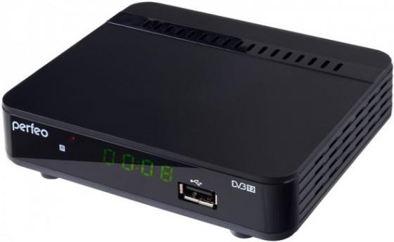Тюнер цифровой DVB-T2 Perfeo PF-120-3 цена 2017