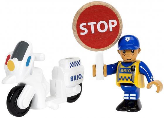 """все цены на Набор Brio """"Полицейский мотоцикл"""" с 3-х лет 3 элемента онлайн"""