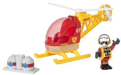 Вертолет Brio Спасательный вертолет с 3-х лет 7312350337976 погрузчик с вращением с магнитом блист brio