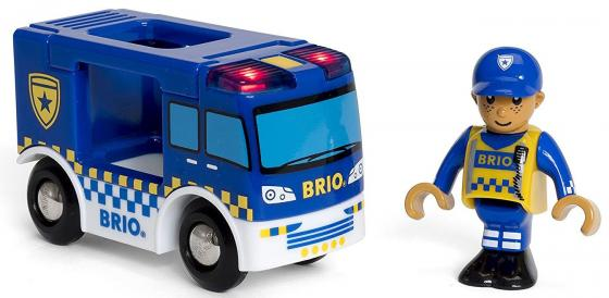 Полиция Brio Полиция с 3-х лет 7312350338256 набор игровой со светозвуковыми эффектами brio парк развлечений 33740