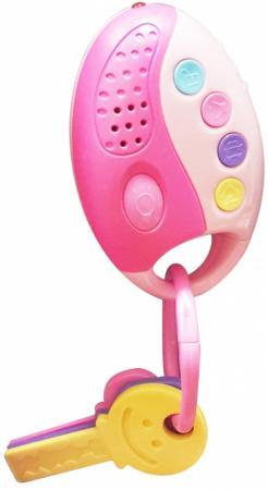 Интерактивная игрушка 1Toy Автоключики от 1 года розовый свет, звук, Т59301 обучающая книга азбукварик секреты маленькой принцессы 9785402000568