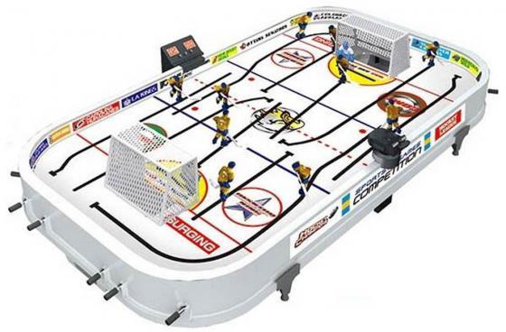 Настольная игра хоккей S+S TOYS Настольный хоккей Hockey Champions СС76720 игровой набор s s toys 200003192 бадминтон ракетка волан