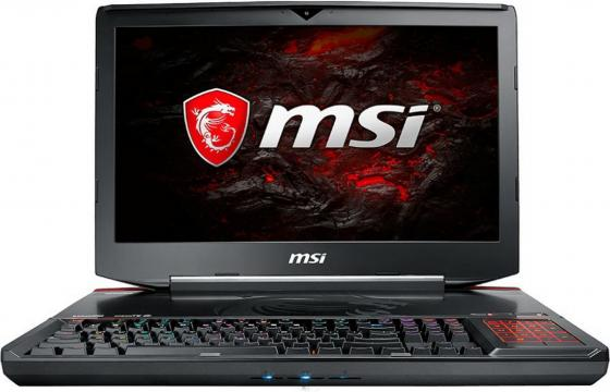 Ноутбук MSI GT83VR 7RE-249RU Titan SLI 18. 1920x1080 Intel Core i7-7820HK  Tb 128 Gb 16Gb 2х nVidia GeForce GTX 1070 8192 Мб черный Windows  Home 9S7-181542-