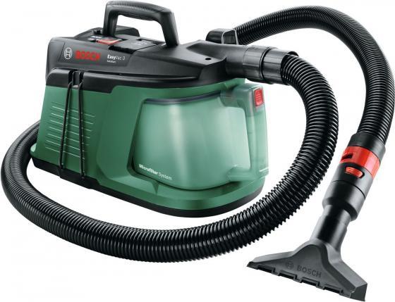 Пылесос Bosch EasyVac3 сухая уборка зелёный чёрный автомобильный пылесос bosch easyvac12 сухая уборка зелёный