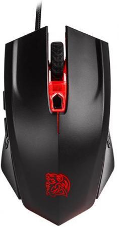Мышь проводная Tt eSPORTS Talon X чёрный USB MO-CPC-WDOOBK-01 набор tt esports commander combo kb ccm plblru 01