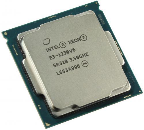 Процессор Intel Xeon E3-1230v6 3.5GHz 8Mb LGA1151 OEM процессор intel xeon x4 e3 1271v3 3 6ghz 8mb lga1150 oem