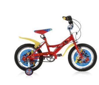 Велосипед двухколёсный Navigator Super Hero Girls 12 красный navigator велосипед super hero girls kite тип с 5 лет