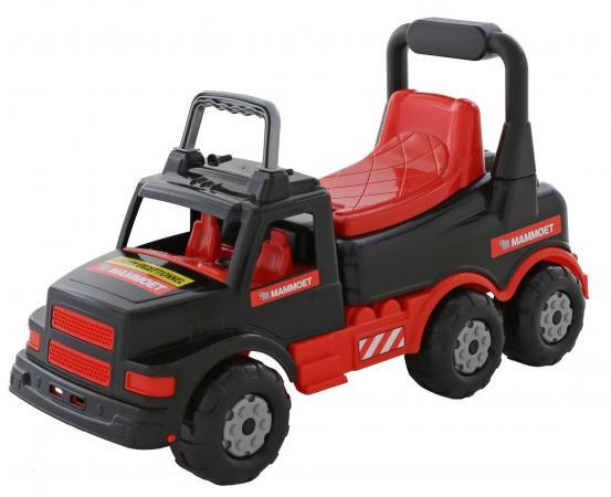 Каталка-машинка MAMMOET 56764 201-01 пластик от 10 месяцев на колесах красный автомобиль кран полесье mammoet с поворотной платформой 56771