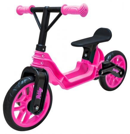 Беговел двухколёсный RT Hobby bike Magestic 10 розово-черный
