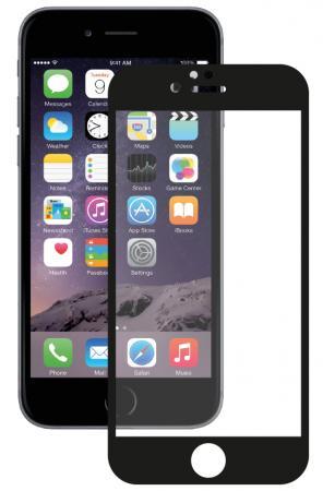 Защитное стекло 3D Deppa 61997 для iPhone 6 iPhone 6S 0.3 мм черный цена