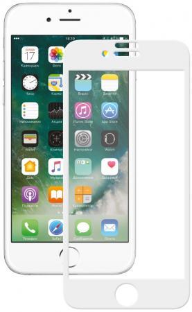Защитное стекло 3D Deppa 62036 для iPhone 7 0.3 мм белый цена и фото