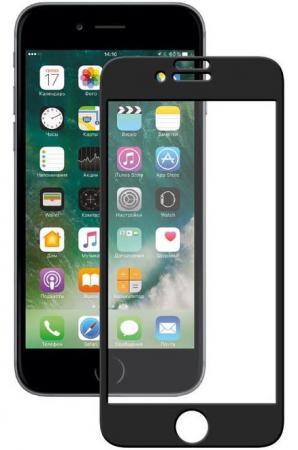 Защитное стекло 3D Deppa 62037 для iPhone 7 Plus 0.3 мм черный защитное стекло deppa 3d для apple iphone 7 plus 8 plus с рамкой 0 3 мм черный