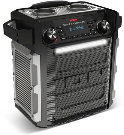 Портативная акустикаION Audio Block Rocker Sport серый/черный vcr 2 pc от ion audio