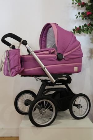 Коляска для новорожденного Inglesina Outtto на шасси Quad XT Black (AB20B6FUX + AE64G0000) коляска для новорожденного