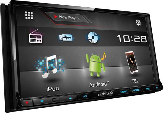 Автомагнитола Kenwood DDX-6016BTR 7 USB MP3 DVD CD FM RDS 2DIN 4x40Вт черный автомагнитола kenwood kdc bt500u usb mp3 cd fm rds 1din 4х50вт черный