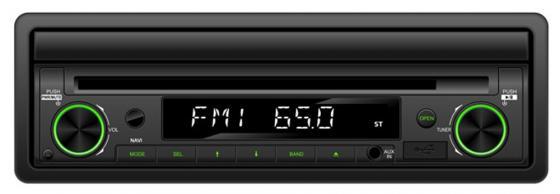 Автомагнитола Supra SWM-757NV 7 USB MP3 CD DVD FM RDS SD 1DIN 4x50 пульт ДУ черный автомобильный dvd плеер joyous kd 7 800 480 2 din 4 4 gps navi toyota rav4 4 4 dvd dual core rds wifi 3g