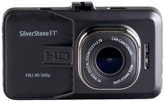 Видеорегистратор Silverstone F1 NTK-9000F 3 1920x1080 140° microSD microSDHC датчик движения USB HDMI черный