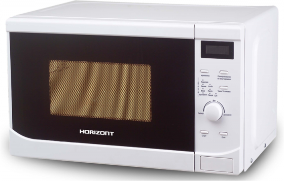 Микроволновая печь Horizont 20MW700-1379BBW 700 Вт белый чёрный микроволновая печь erisson mw17ma 700 вт белый