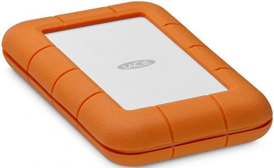 Внешний жесткий диск 2.5 Thunderbolt USB C 4Tb Lacie Rugged STFS4000800 оранжевый съемный жесткий диск lacie rugged usb3 thunderbolt 2tb