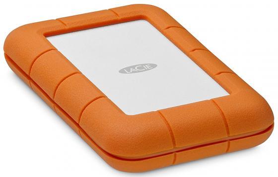 Внешний жесткий диск 2.5 Thunderbolt USB C 2Tb Lacie Rugged STFS2000800 оранжевый съемный жесткий диск lacie rugged usb3 thunderbolt 2tb