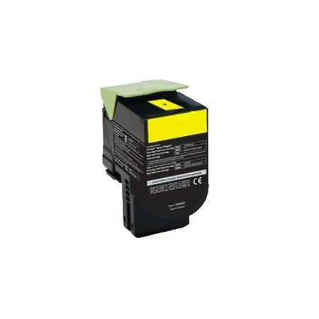 Картридж Lexmark 70C8HYE для Lexmark CS310/CS410/CS510 желтый 3000стр laser toner cartridge chip for lexmark cs310 cs410 cs510