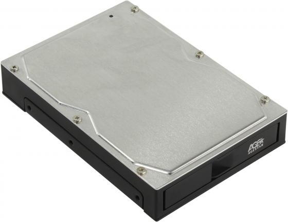 Внешний контейнер для HDD 2.5 3.5 SATA AgeStar 3CB2A USB3.0 пластик/металл черный 1pcs serial ata sata 4 pin ide to 2 of 15 hdd power adapter cable hot worldwide