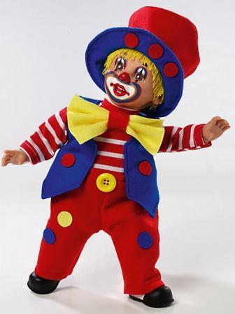 Купить Кукла Arias Клоун 38.5 См Мягкая