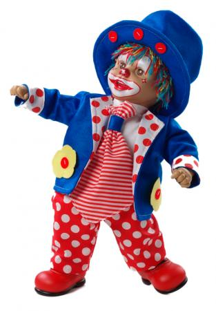 "Купить Кукла Arias ""клоун"" 38 См"