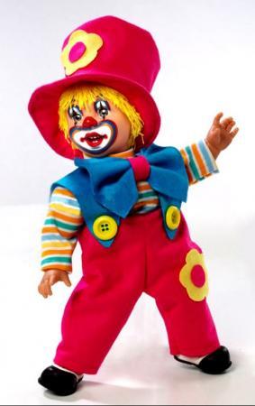 Купить Кукла Arias Клоун 38 См