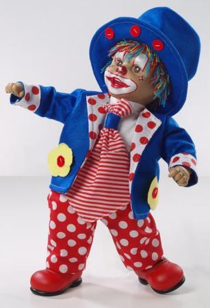 Кукла Arias Клоун 50 см кукла клоун arias 38см красный
