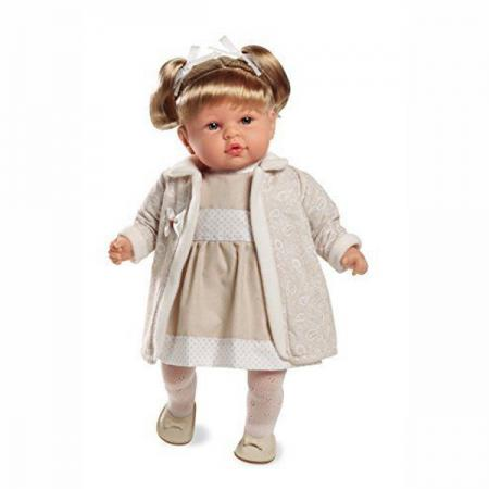 Кукла Arias Elegance 45 см смеющаяся arias кукла клоун 38 см т59774