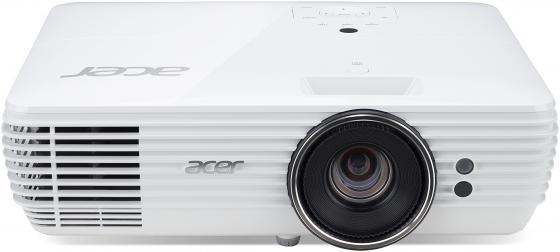 Проектор Acer H7850 3840x2160 3000 лм 1000000:1 белый MR.JPC11.001 проектор acer k137i белый [mr jkx11 001]