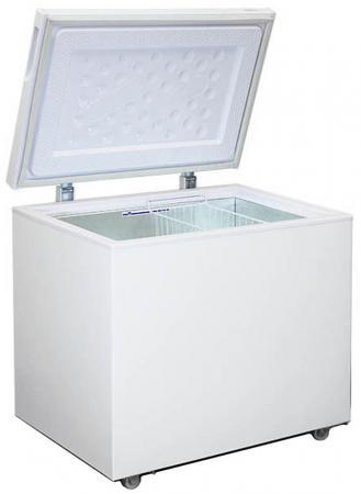 Морозильный ларь Бирюса Б-260VK белый морозильный ларь hansa fs300 3 белый