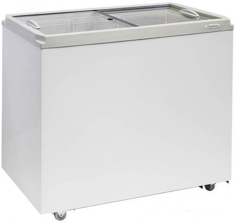 Морозильный ларь Бирюса Б-260VZ белый морозильный ларь бирюса 355vk