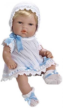 Пупс Arias 8427614600884 33 см пупс arias 33 см блондинка в бело розовом вязаном платье кор