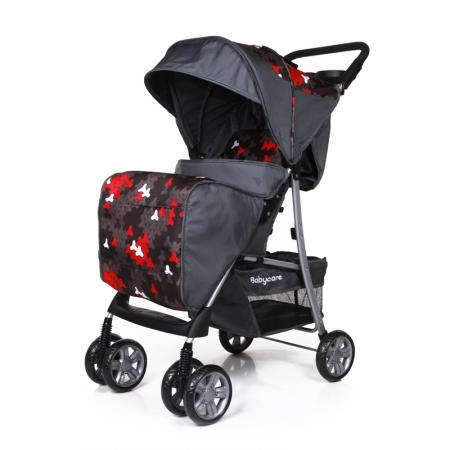 Прогулочная коляска Baby Care Shopper (grey) коляска baby care baby care коляска для двойни tandem brown grey