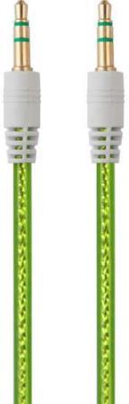 Кабель соединительный 0.75м Belsis 3.5 Jack - 3.5 Jack прозрачный зеленый BL1105 кабель belsis bl1107 jack 3 5 mm jack 3 5 mm вилка вилка стерео 0 75 м черный