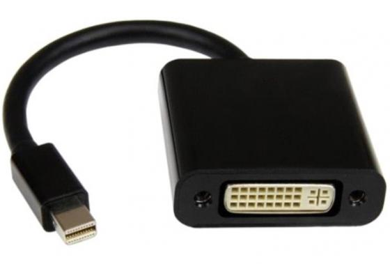 Переходник Orient C303 Mini DisplayPort - DVI черный 30303 цена