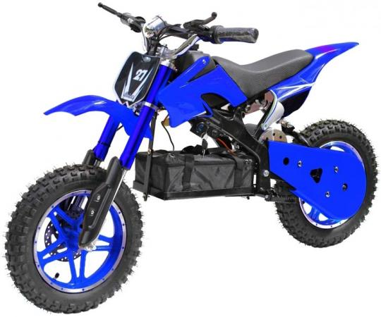 Мотоцикл дет. электр.,TopGear Junior Спорт, 99х48х50,36В/12Ач 500Вт, сине-сер двухколесные самокаты topgear junior т59740