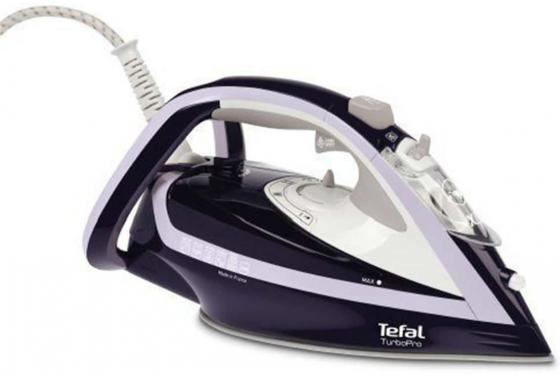 Утюг Tefal FV5615E0 2600Вт синий белый high power dimmable 189mm led r7s light 50w cob r7s led lamp with cooling fan replace 500w halogen lamp